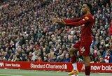 """""""Liverpool"""" gynėjas T.Alexanderis-Arnoldas pateko į Gineso rekordų knygą"""