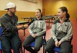 Stalo teniso dvynėms trenerė linki ją pralenkti