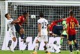 Tautų lyga: Ispanijos rinktinė 95-ąją minutę išplėšė lygiąsias su Vokietijos futbolininkais