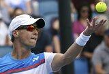 Pirmojo seto pabaigoje atsigavęs R.Berankis Indijoje žengė į ketvirtfinalį