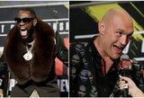 D.Wilderis pasiryžo pagerinti legendinio M.Ali rekordą, T.Fury jau nusprendė, kaip švęs pergalę