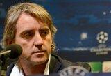 """R.Mancini: """"Turime susitaikyti su sezono Europoje pabaiga"""""""