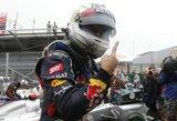 """S.Vettelio kelias link 2012 metų """"Formulės 1"""" čempiono titulo (Nr.1)"""