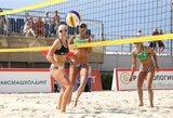 """""""Sochi Open"""" paplūdimio tinklinio turnyro starte – I.Dumbauskaitės ir M.Povilaitytės nesėkmė"""