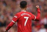 """C.Ronaldo: """"Sugrįžti rungtyniauti į """"Man Utd"""" klubą yra geriausias mano priimtas sprendimas"""""""