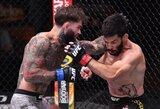 Naujajame UFC reitinge – C.Garbrandto ir A.Perezo šuoliai į viršų