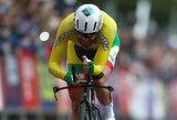 Europos plento dviračių čempionate G.Bagdonas pranoko R.Navardauską