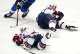Amerikiečiai krito pasaulio jaunimo ledo ritulio čempionato ketvirtfinalyje