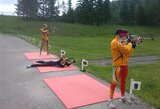 Pasaulio vasaros biatlono čempionate Lietuvos komanda užėmė 9-ą vietą