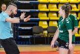 Galingai rungtynių antrą pusę Vilniuje sužaidusios žalgirietės reguliarųjį sezoną baigė pergale