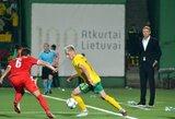 """A.Novikovas: """"Jei žaisime taip, kaip antrajame kėlinyje, tikrai išliksime C divizione"""""""