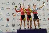 Tarptautinėse dviračių treko varžybose Panevėžyje – V.Lendelio pergalė prieš S.Jonauską