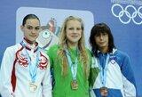 Plaukimo varžybose Anglijoje – dar vienas sėkmingas Lietuvos plaukikės R.Meilutytės pasirodymas