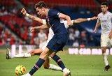 93-ąją minutę įvartį pelnęs PSG įsirašė į savo sąskaitą pirmąją pergalę Prancūzijos čempionate