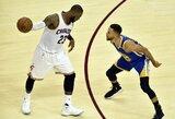 """L.Jamesas: """"Curry turėtų uždirbti 400 mln. JAV dolerių"""""""