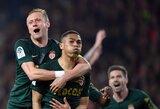 """Paskutinę akimirką įvartį pelnę """"Monaco"""" nukautavo vienus iš Prancūzijos lyderių"""