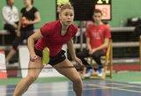 Pasaulio badmintonininkių reitinge – lietuvių šuolis į viršų
