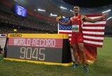 Universaliausias pasaulio lengvaatletis A.Eatonas pagerino dešimtkovės planetos rekordą!
