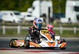 Europos kartingo KZ2 čempionate R.Baciušką lydėjo nesėkmės