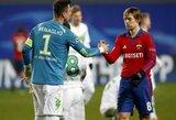 """CSKA ir """"Astana"""" viltys žengti į ČL aštuntfinalį – žlugo"""