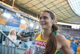 A.Šerkšnienė Ciuriche pakartojo asmeninį rekordą