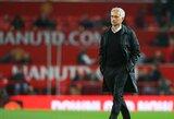 """J.Mourinho pripažino, jog """"Man Utd"""" akistatoje su """"Newcastle Utd"""" gyvybiškai svarbu iškovoti tris taškus"""