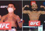 Chaosas pagaliau baigsis: po svėrimų patvirtinta kova dėl UFC pasaulio čempiono diržo