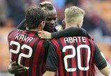 """""""Milan"""" klubas sparčiai artėja Europos lygos link"""