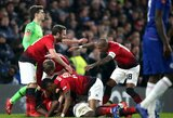 "Kontratakomis varžovus baudę ""Manchester United"" išmetė ""Chelsea"" iš FA taurės"