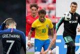 20 pasaulio čempionato futbolininkų, kurie gali persikelti į kitus klubus