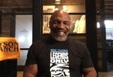 """Savo vaikų patarimų neklausantis M.Tysonas: """"Ką jie šneka? Jie manęs tikrai nenugalėtų"""""""