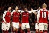 """Europos lyga: """"Arsenal"""" sutriuškino rusus, """"Atletico"""" palaužė """"Sporting"""""""