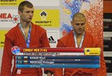 M.Veržbickas iškovojo Europos sambo čempionato bronzą