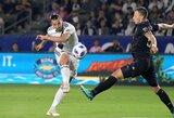 Pamatykite: Z.Ibrahimovičiaus įvartis pripažintas geriausiu šūviu MLS sezone