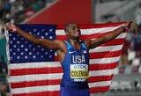 Sprinto dublio pasaulio čempionate nebus: Ch.Colemanas atsisakė bėgti 200 m rungtyje
