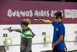 G.Rankelytę nuo Europos jaunimo šaudymo čempionato finalo skyrė trys taškai