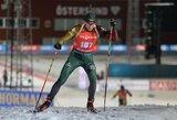 Europos biatlono čempionato starte lietuviai neįveikė kvalifikacijos