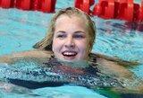 Prieš Europos plaukimo čempionatą – Lietuvos rekordų lietus Anglijoje