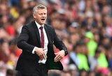 """Po dar vienų išbarstytų taškų O.G.Solskjaeras ragina """"Manchester United"""" nepasiduoti: """"Turime būti labiau šaltakraujiški"""""""