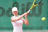 Lietuvos moterų teniso rinktinė iškopė į aukštesnį Federacijų taurės turnyro divizioną