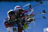 Prastas Lietuvos biatlonininkų pasirodymas sukomplikavo kovą dėl olimpinių kelialapių