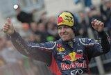 S.Vettelis teigia, kad iškovojęs trečiąjį titulą jis pats sau daro spaudimą