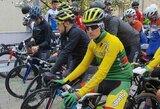 V.Lašinis pasaulio jaunimo plento dviračių čempionate liko rikiuotės viduryje