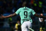 """Dublį pelnęs R.Lukaku įspėjo """"Inter"""": """"Turime geriau gintis"""""""
