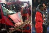 """Tragiškoje futbolo komandos autobuso avarijoje žuvo 9 žmonės, paskelbta klaidinanti informacija apie """"Liverpool"""" žaidėjo pusbrolio mirtį"""