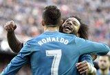"""Po fiasko Ispanijos taurėje atsigavę """"Real"""" įveikė """"Valencia"""""""