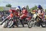 Europos motobolo čempionate lietuviai užėmė 6-ą vietą