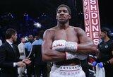 """Požiūrį į boksą pakeitęs A.Joshua: """"Norėjote, kad pasiduočiau?"""""""