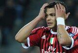T.Silva dėl atsinaujinusios traumos praleis Milano miesto derbį