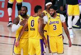 NBA krepšininkai nusprendė tęsti sezoną